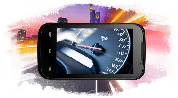 Prestigio MultiPhone 5453 DUO - procesor