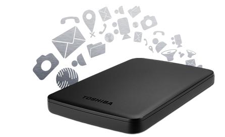 Toshiba Canvio BASICS 2,5