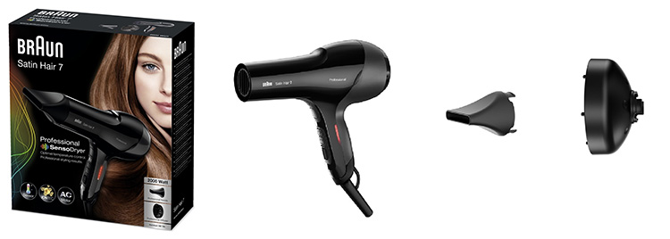 BRAUN Hairdryer HD785