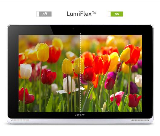 Ukázka rozdílu při použití funkce LumiFlex™