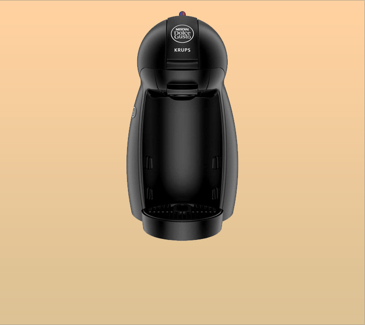 krups kp1000ce nescaf dolce gusto piccolo black capsule coffee machine. Black Bedroom Furniture Sets. Home Design Ideas