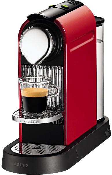 nespresso krups citiz xn720510 capsule coffee machine. Black Bedroom Furniture Sets. Home Design Ideas