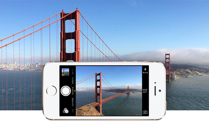 iPhone 5S - Fotoaparát