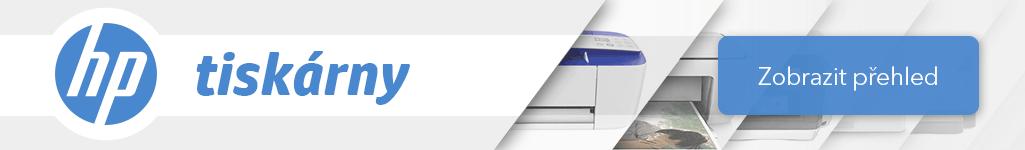 HP tiskárny banner