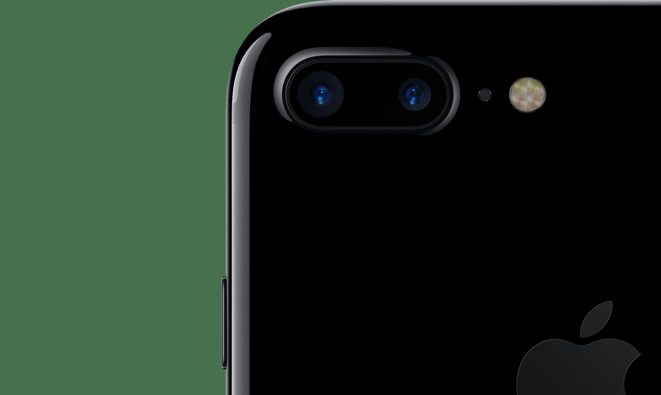 iPhone7 Plus - dva fotoaparáty