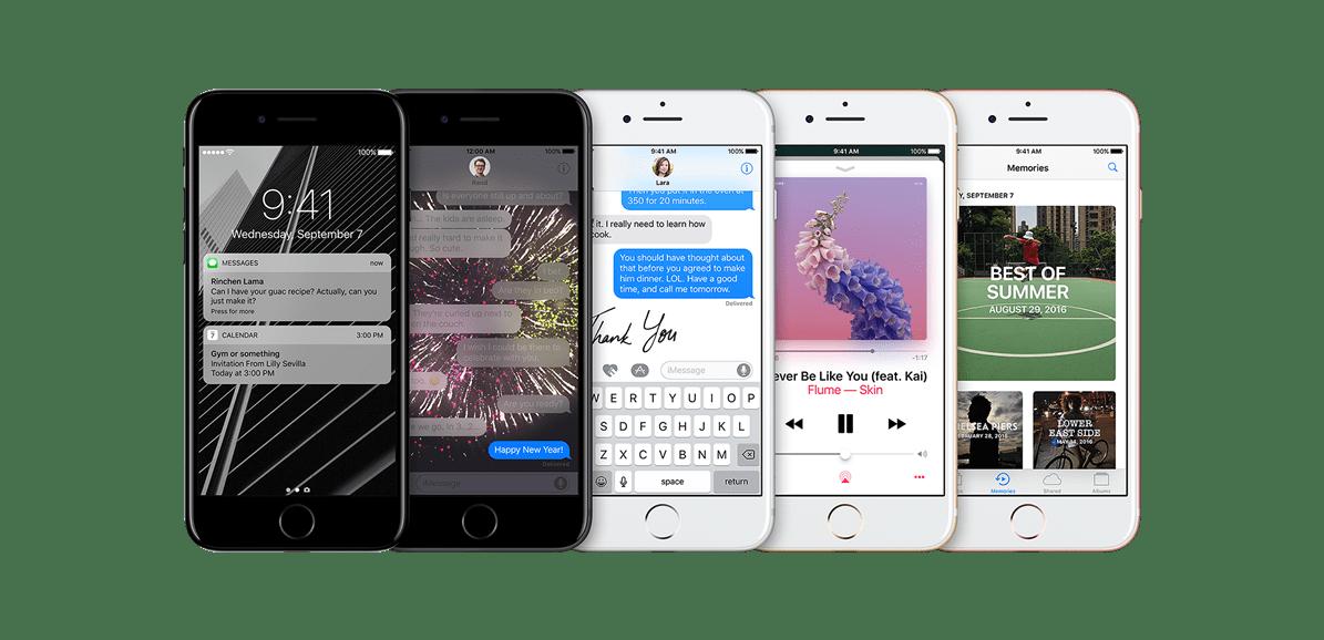 iPhone7 - iOS 10