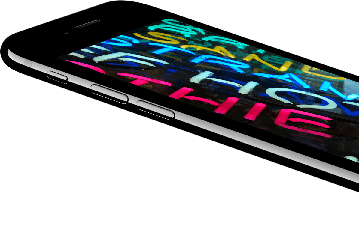 iPhone7 - retina displej
