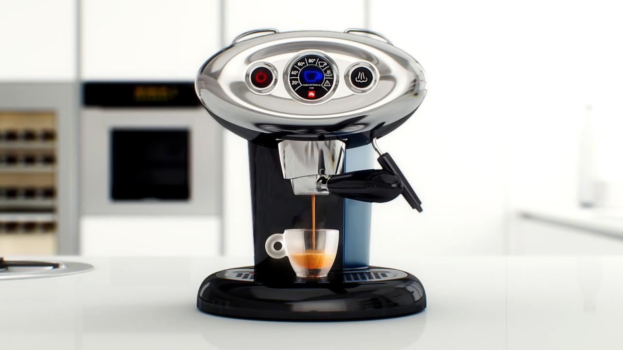 Kávovar Illy v akci