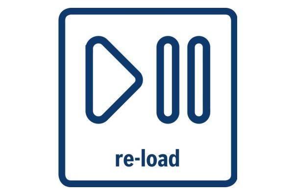 Start / Pauza s re-load funkcí