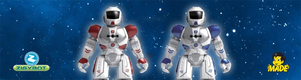 Interaktivní robot Zigybot Viktor