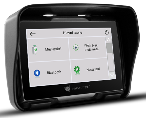 GPS navigace NAVITEL G550 - Bluetooth