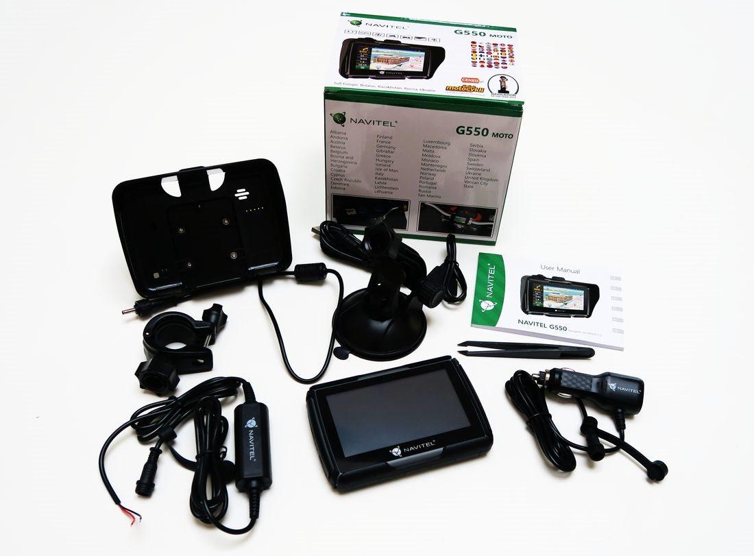 GPS navigace NAVITEL G550 - přislušenství
