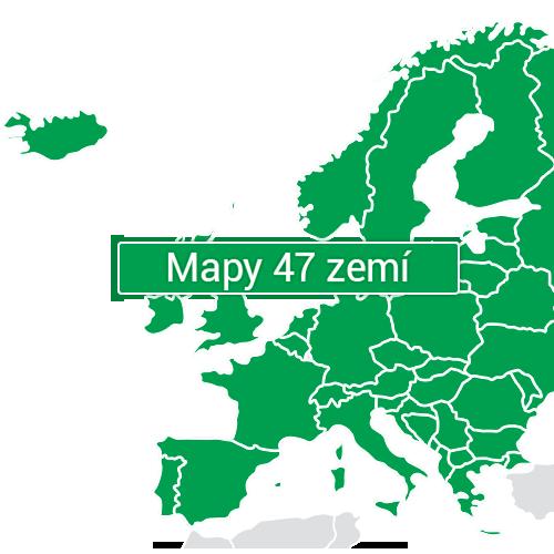 GPS navigace NAVITEL G550 - mapy 47 zemí