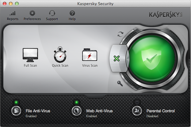 Kaspersky Internet Security Mac