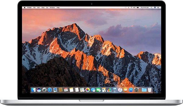 "MacBook Pro 15"" Retina CZ 2017 s Touch Barem Stříbrný"