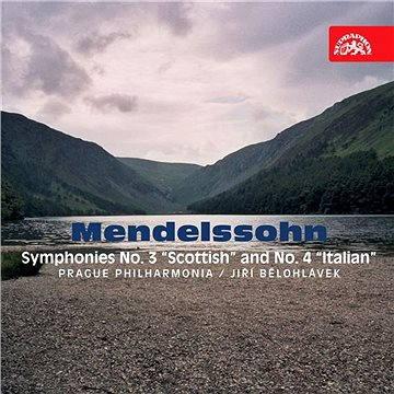 "Mendelssohn-Bartholdy: Symfonie č. 3 ""Skotská"" a č. 4 ""Italská"""