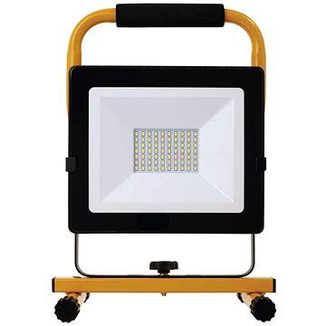 EMOS LED reflektor přenosný, 50W neutrální bílá