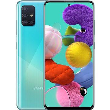 Samsung Galaxy A51 modrá