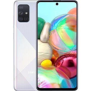 Samsung Galaxy A71 strieborný