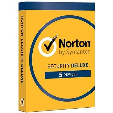 Symantec Norton Security Deluxe 3.0 CZ, 1 uživatel, 5 zařízení, 18 měsíců (elektronická licence)