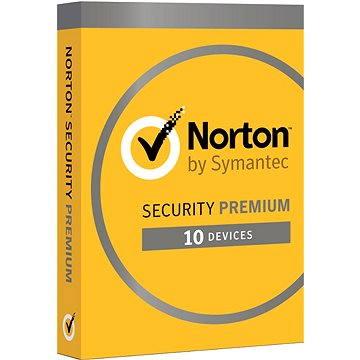 Symantec Norton Security Premium 25GB 3.0 CZ, 1 uživatel, 10 zařízení, 12 měsíců (elektronická licen