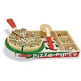Melissa-Doug Dřevěná pizza
