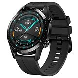 Huawei Watch GT 2 46 mm Black Fluoroelastomer Strap