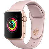 Apple Watch Series 3 38mm GPS Zlatý hliník s pískově růžovým sportovním řemínkem