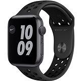 Apple Watch Nike Series 6 44mm Vesmírně šedý hliník s antracitovým/černým sportovním řemínkem Nike