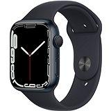Apple Watch Series 7 45mm Temně inkoustový hliník s temně inkoustovým sportovním řemínkem