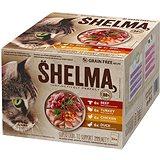 Shelma bezobilné dušené filetky masový výběr 24 × 85 g