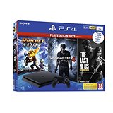 PlayStation 4 Slim 1TB + 3 hry (The Last Of Us, Uncharted 4, Ratchet and Clank)