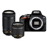 Nikon D3500 černý + 18-55mm + 70-300mm
