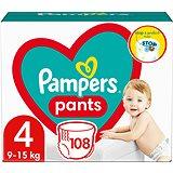 PAMPERS Pants vel. 4 Maxi (9-15 kg) 104ks - megapack