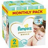 PAMPERS Premium Care vel. 2 Mini (240 ks) - měsíční balení
