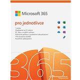 Microsoft 365 pro jednotlivce (elektronická licence)