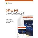 Microsoft Office 365 pro domácnosti (elektronická licence)