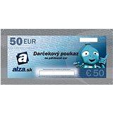 Darčekový poukaz Alza.sk na nákup tovaru v hodnote 50 €