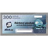 Dárkový poukaz Alza.cz na nákup zboží v hodnotě 300 Kč
