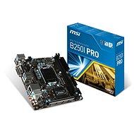 MSI B250I PRO - Základní deska