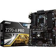 MSI Z270-A PRO - Motherboard