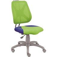 ALBA Fuxo zeleno/modrá - Dětská židle