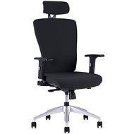 HALIA s podhlavníkem černá - Kancelářská židle