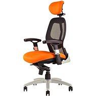 SATURN oranžová - Kancelářská židle