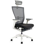 MERENS WHITE s pohlavníkem černá - Kancelářská židle