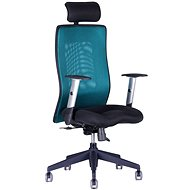 CALYPSO GRAND with headrest black / green