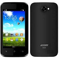 Accent A420c černý Dual SIM + 2 kryty - Mobilní telefon