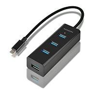 AXAGON HUE-S2C USB-C 4-Port USB 3.0 CHARGING hub
