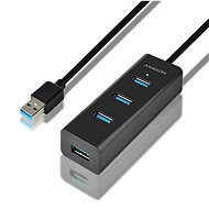 USB Hub AXAGON HUE-S2BL 4-Port USB 3.0 CHARGING hub