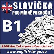 Angličtina – Slovíčka pro mírně pokročilé B1 - Kolektív autorov